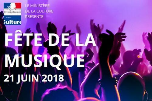image : Fête de la musique 2018