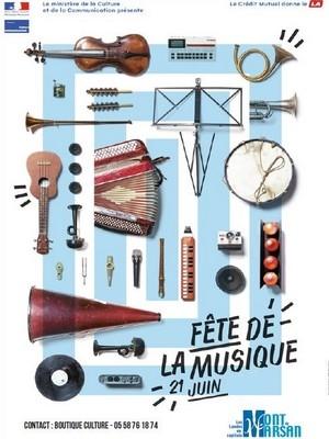 image : Affiche fête de la musique