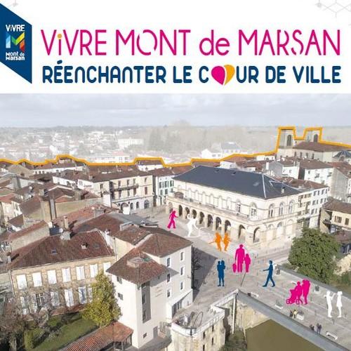 image : Couverture du programme Action cœur de ville Mont de Marsan 2019